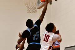 NCAA Dll Basketball; Post vs. Holy Family - Photo # 500