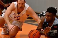 NCAA Dll Basketball; Post vs. Holy Family - Photo # 503