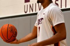 NCAA Dll Basketball; Post vs. Holy Family - Photo # 520