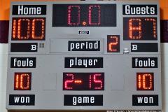 NCAA Dll Basketball; Post vs. Holy Family - Photo # 552