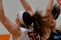 NCAA Dll Basketball; Post vs. Holy Family - Photo # 018
