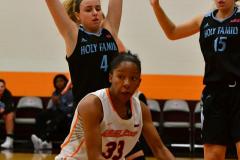 NCAA Dll Basketball; Post vs. Holy Family - Photo # 021