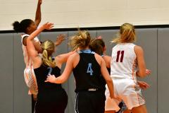 NCAA Dll Basketball; Post vs. Holy Family - Photo # 030