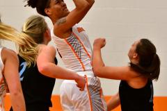NCAA Dll Basketball; Post vs. Holy Family - Photo # 051