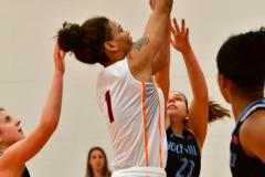 NCAA Dll Basketball; Post vs. Holy Family - Photo # 062