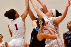 NCAA Dll Basketball; Post vs. Holy Family - Photo # 079