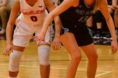 NCAA Dll Basketball; Post vs. Holy Family - Photo # 085