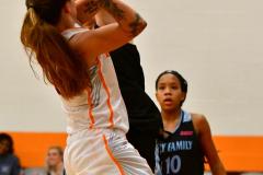 NCAA Dll Basketball; Post vs. Holy Family - Photo # 120