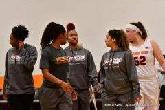 NCAA Dll Basketball; Post vs. Holy Family - Photo # 125