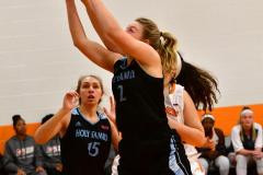 NCAA Dll Basketball; Post vs. Holy Family - Photo # 171