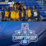 NCAA Football AAC Championship Navy 10 vs. Temple 34 - Fans, Bands, and Cheer Gallery Photo (2)