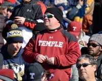 NCAA Football AAC Championship Navy 10 vs. Temple 34 - Fans, Bands, and Cheer Gallery Photo (32)
