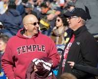 NCAA Football AAC Championship Navy 10 vs. Temple 34 - Fans, Bands, and Cheer Gallery Photo (33)