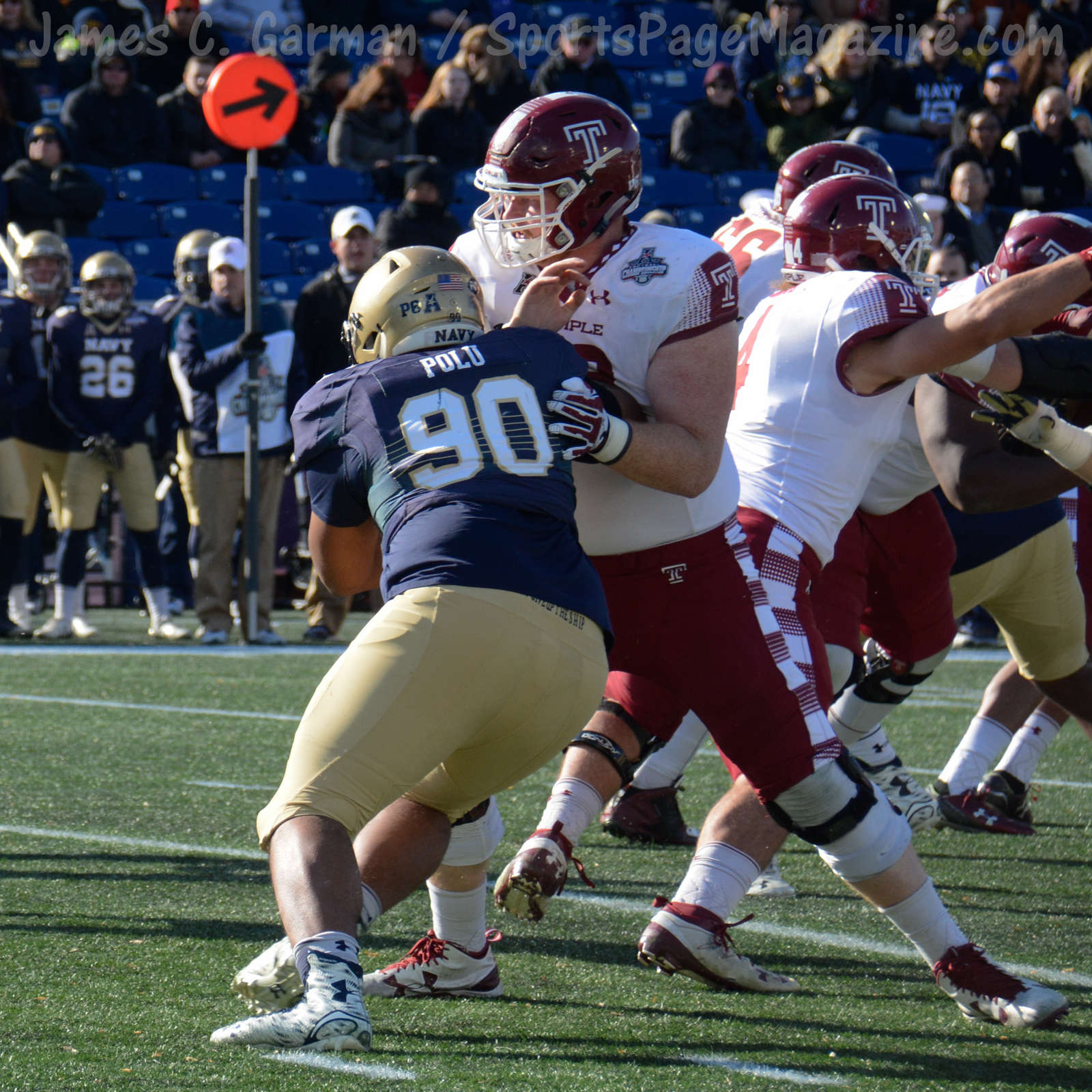 Gallery NCAA Football AAC Championship: Navy 10 vs. Temple ...