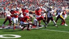 Gallery NCAA Football: Ball State 9 vs Centra Michigan 56, Scheumann Stadium, Muncie IN, October 21, 2017