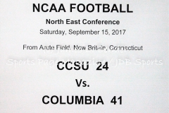 Gallery NCAA Football: CCSU 24 vs. Columbia 41