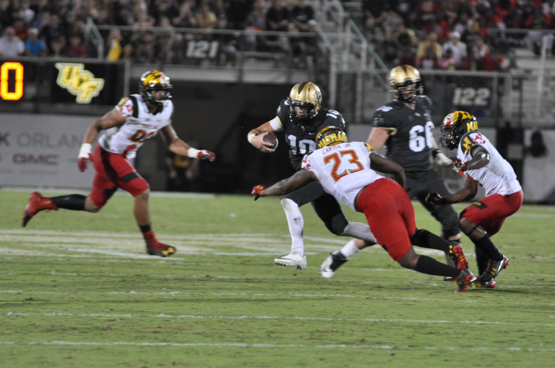 NCAA Football: Central Florida 24 vs Maryland 30 - Sports ...