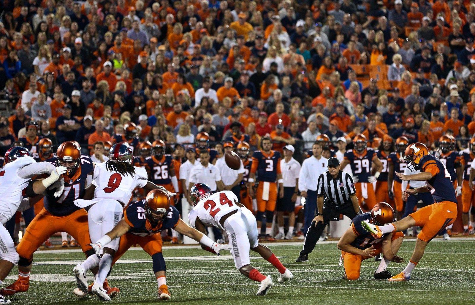 Gallery NCAA Football: Illinois 20 vs. Western Kentucky 7 ...