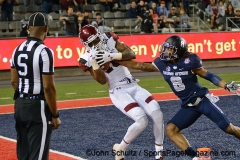 NCAA Football: Nova Home Loans Arizona Bowl-Utah State 20 vs New Mexico State 26-Arizona Stadium, Tucson, AZ-December 29, 2017