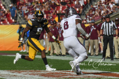 NCAA Football - Outback Bowl - Iowa 27 vs. Mississippi State 22 (136)