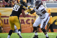 NCAA Football - Outback Bowl - Iowa 27 vs. Mississippi State 22 (87)