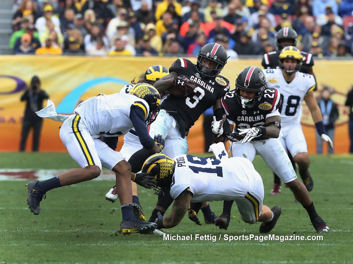 Gallery NCAA Football: Outback Bowl: South Carolina 26 vs ...