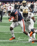 NCAA Football Peach Bowl - #12 UCF 34 vs. #7 Auburn 27 (103)