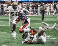NCAA Football Peach Bowl - #12 UCF 34 vs. #7 Auburn 27 (104)