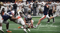 NCAA Football Peach Bowl - #12 UCF 34 vs. #7 Auburn 27 (108)