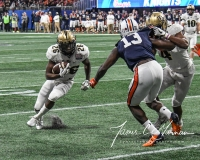 NCAA Football Peach Bowl - #12 UCF 34 vs. #7 Auburn 27 (115)