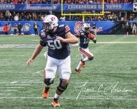 NCAA Football Peach Bowl - #12 UCF 34 vs. #7 Auburn 27 (125)