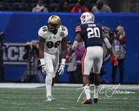 NCAA Football Peach Bowl - #12 UCF 34 vs. #7 Auburn 27 (19)