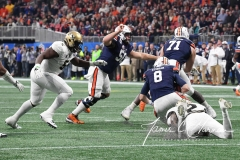 NCAA Football Peach Bowl - #12 UCF 34 vs. #7 Auburn 27 (25)