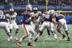 NCAA Football Peach Bowl - #12 UCF 34 vs. #7 Auburn 27 (30)