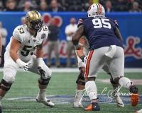 NCAA Football Peach Bowl - #12 UCF 34 vs. #7 Auburn 27 (38)