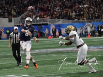 NCAA Football Peach Bowl - #12 UCF 34 vs. #7 Auburn 27 (44)