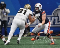 NCAA Football Peach Bowl - #12 UCF 34 vs. #7 Auburn 27 (52)