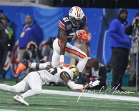 NCAA Football Peach Bowl - #12 UCF 34 vs. #7 Auburn 27 (53)