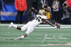 NCAA Football Peach Bowl - #12 UCF 34 vs. #7 Auburn 27 (89)