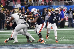 NCAA Football Peach Bowl - #12 UCF 34 vs. #7 Auburn 27 (97)
