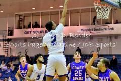 Gallery NCAA MBSK: Central Connecticut 104 vs. Coast Guard 64
