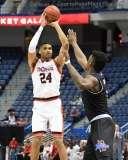 NCAA Men's Basketball - AAC Tournament QF's - #2 Cincinnati 80 vs. #7 Tulsa 61 (21)