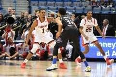 NCAA Men's Basketball - AAC Tournament QF's - #2 Cincinnati 80 vs. #7 Tulsa 61 (32)