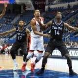 NCAA Men's Basketball - AAC Tournament QF's - #2 Cincinnati 80 vs. #7 Tulsa 61 (39)