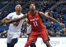 NCAA Men's Basketball AAC Tournament Finals - #1 SMU 71 vs. #2 Cincinnati 56 (27)