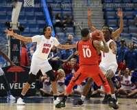 NCAA Men's Basketball AAC Tournament Finals - #1 SMU 71 vs. #2 Cincinnati 56 (44)