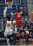 NCAA Men's Basketball AAC Tournament Finals - #1 SMU 71 vs. #2 Cincinnati 56 (48)