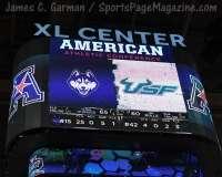 NCAA Men's Basketball - AAC Tournament FR - #6 UConn 77 vs. #11 USF 66 (1)