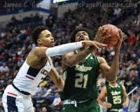 NCAA Men's Basketball - AAC Tournament FR - #6 UConn 77 vs. #11 USF 66 (102)