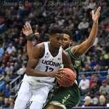 NCAA Men's Basketball - AAC Tournament FR - #6 UConn 77 vs. #11 USF 66 (20)